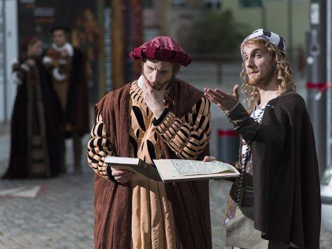 Cranach (l.) und Dürer waren zwei der wichtigsten Künstler ihrer Zeit.