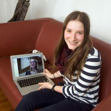 """""""Wir hatten produktive Meinungsverschiedenheiten und haben dabei gelernt, richtig richtig gut zu diskutieren"""", sieht es Sharifa Sens (17)."""