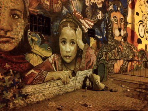 Street Art in Casablanca.